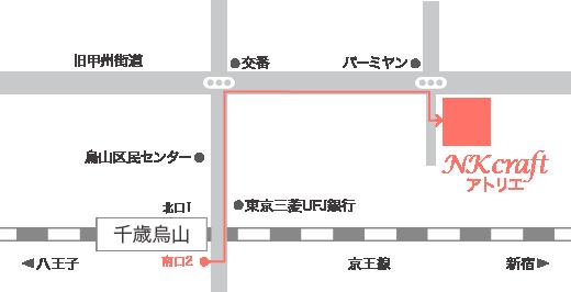 NK craftアクセスマップ